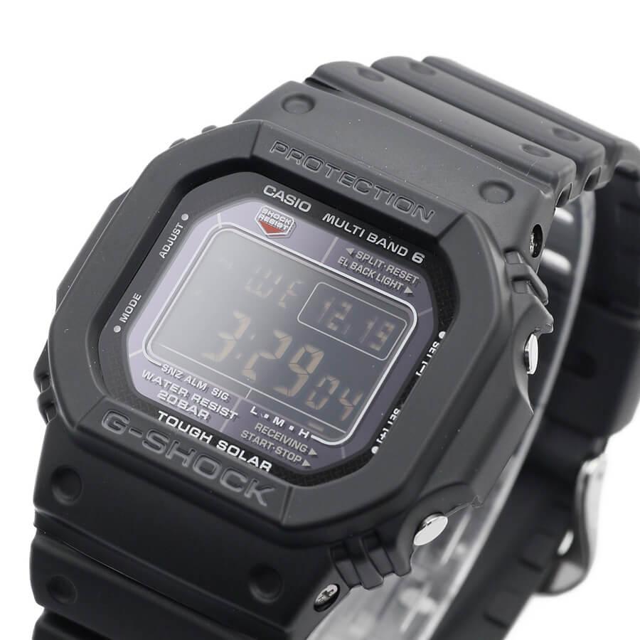 【楽天市場】カシオ Gショック GW-M5610-1BJF オールブラック 電波 ソーラー 電波時計 腕時計 メンズ タフ ...