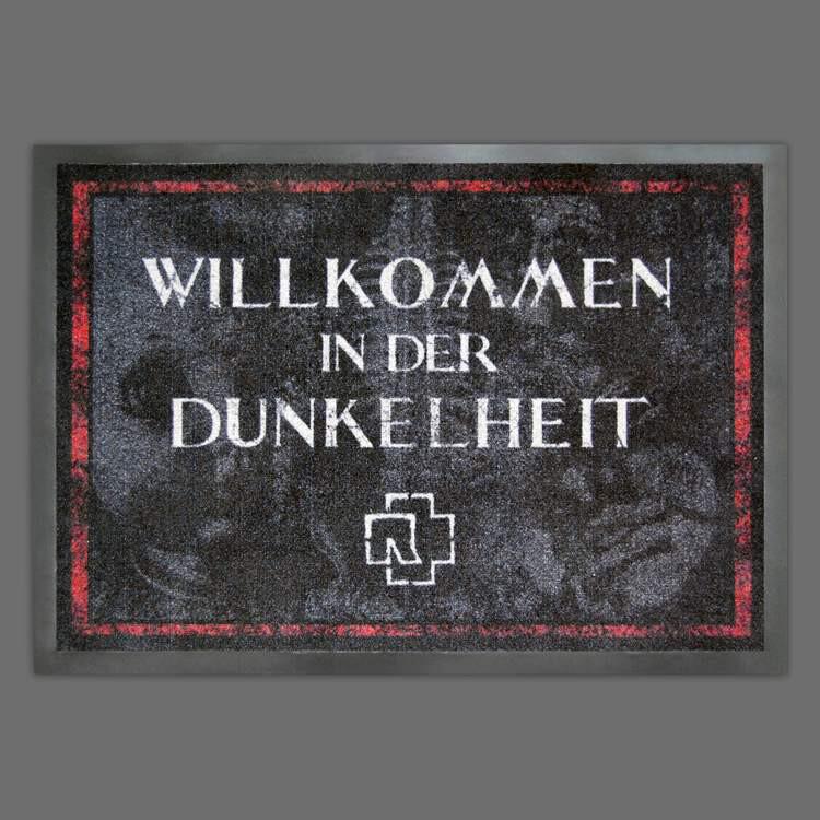 """Rammstein Doormat """"willkommen In Der Dunkelheit1"""