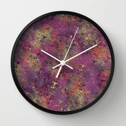 midnight-purple-clock