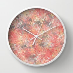 peach-creamsicle-clock