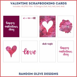 Pocket Scrapbooking Cards - shop.randomolive.com