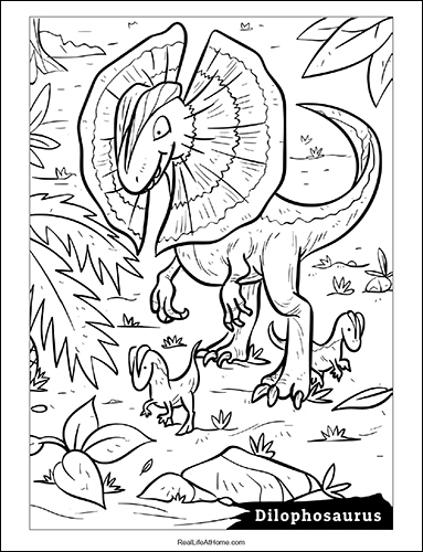 Dinosaur Coloring Sheets Packet (41 Pages)