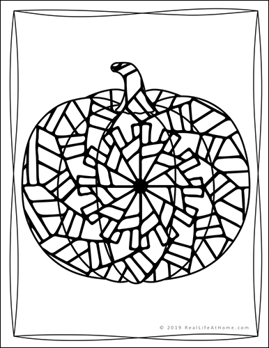 Printable Pumpkin Coloring Book for Kids and Adults