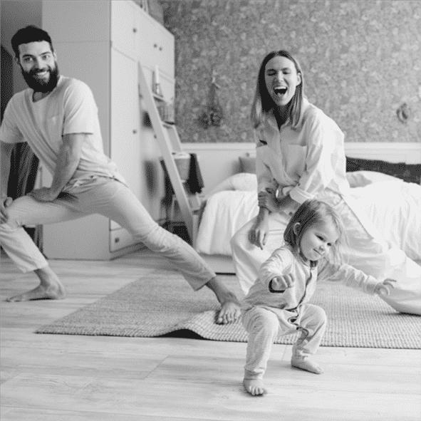 yoga ouders en kind