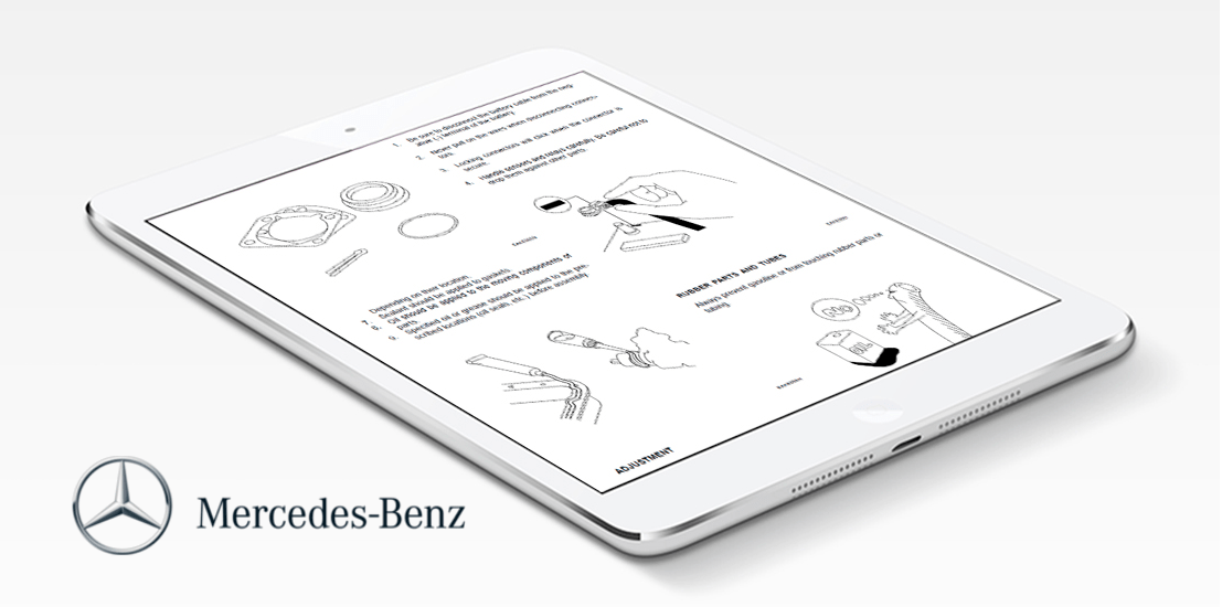 Awesome Mercedes Benz Workshop Manual