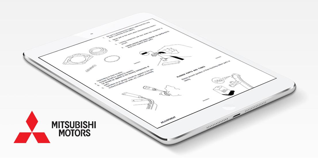 Mitsubishi repair service manual choose your vehicle instant mitsubishi repair manual asfbconference2016 Choice Image