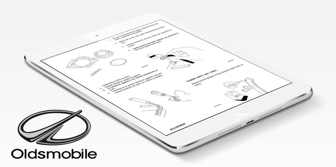 oldsmobile workshop manual