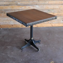 Industrial Bistro Chairs Mid Century Modern Accent Canada Cafe Table Vintage Furniture