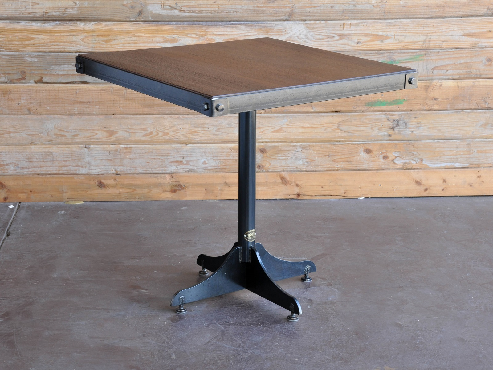 retro cafe table and chairs tables for kids vintage industrial furniture