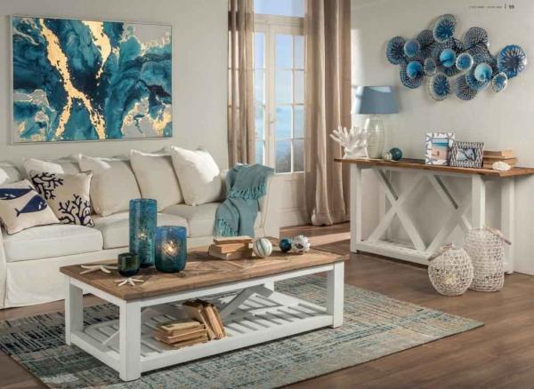Quadro set 2 legno bamb 60x4x80 palme naturale. Decorazione Da Parete L Oca Nera In Metallo Smaltato Blu Dettagli Prezzi E Informazioni