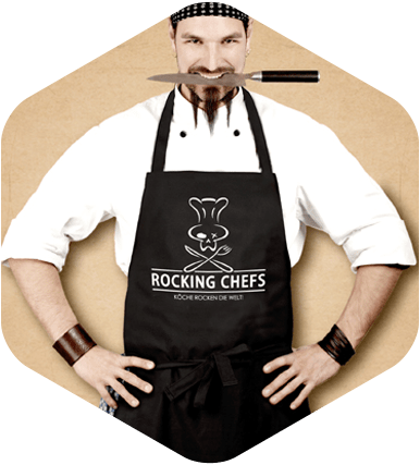Schürze official Rocking Chefs