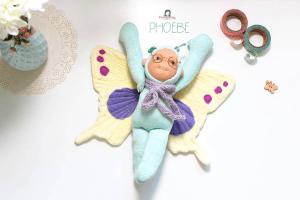 Minzling Phoebe Schmetterling