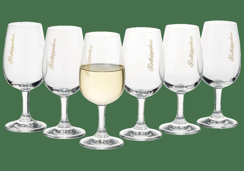 6 Weinglser  GLSER  Rotkppchen FANSHOP