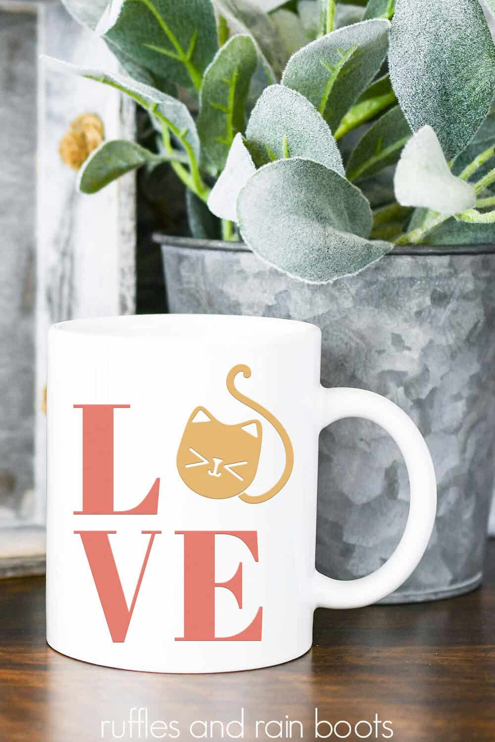 Download Cat LOVE SVG - Cat Cut Files for Cricut and Silhouette ...