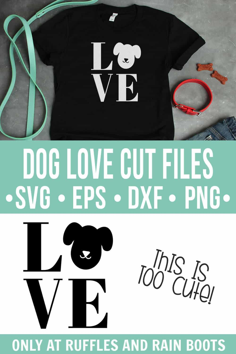 Download Dog LOVE SVG - Dog Cut Files for Cricut and Silhouette ...