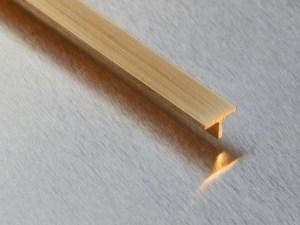 Messing T-Profil