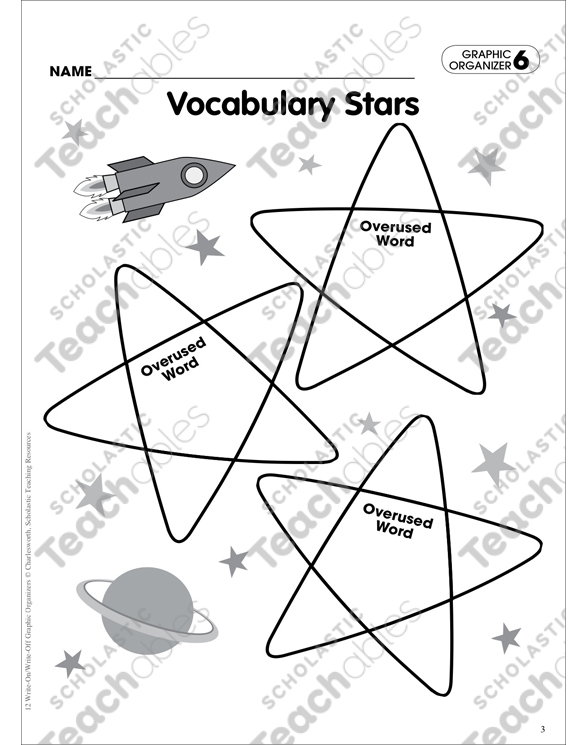 Vocabulary Stars (Improving Word Choice): Writing Skills