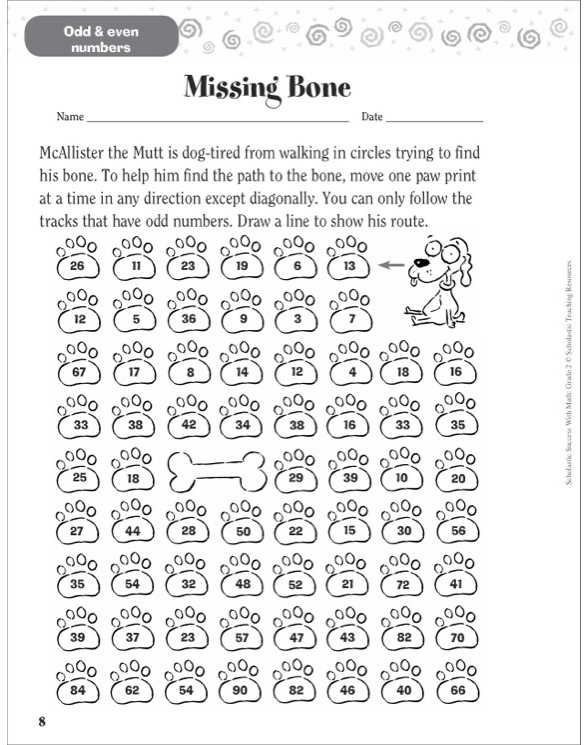 Scholastic Success With Math: Grade 2 by