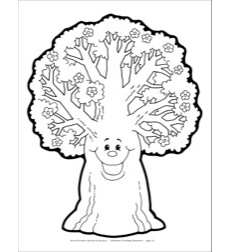 Spring Tree Reproducible Pattern by