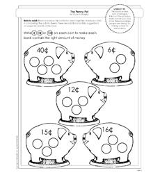 MathStart: The Penny Pot by Stuart J. Murphy