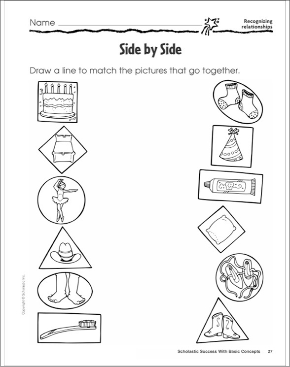 Scholastic Success With Basic Concepts Workbook by