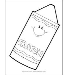 Crayon Reproducible Pattern by