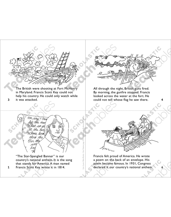 The Star-Spangled Banner Mini-Book by