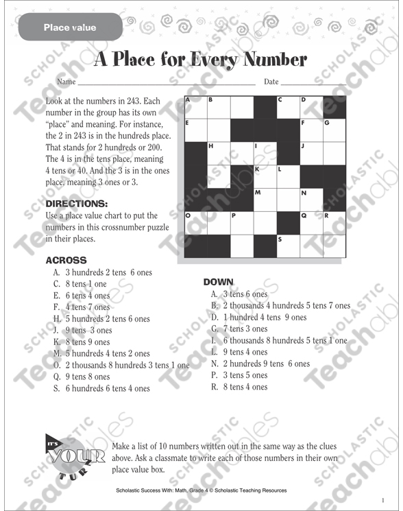 What Number Am I? (Place Value): Scholastic Success With