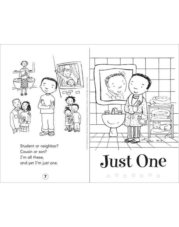 Fluency Practice Mini-Books: Grade 2 by Kathleen M. Hollenbeck