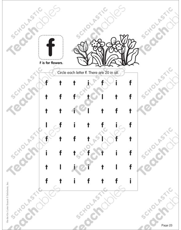 March PreK-K Printable Packet by
