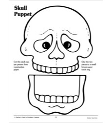 Skull Puppet Pattern by