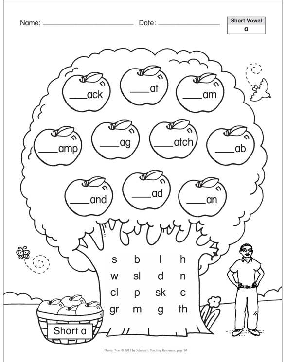 Phonics Trees by Immacula A. Rhodes