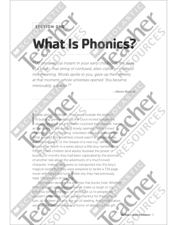 Teaching Phonics & Word Study in the Intermediate Grades