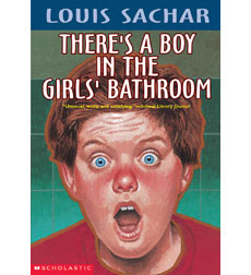Image result for there's a boy in the girls bathroom
