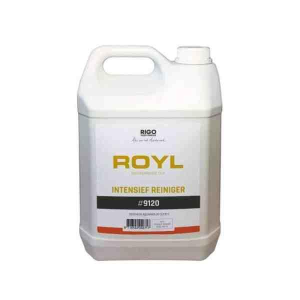 Parket onderhoud met Rigostep Royl Intensiefreiniger