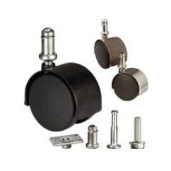 Desk Chair Casters Office Items Replacement Wheels Furniture Caster Durable With Metal Body