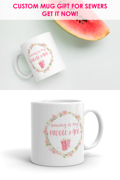 sewing humor mug gift for sewers
