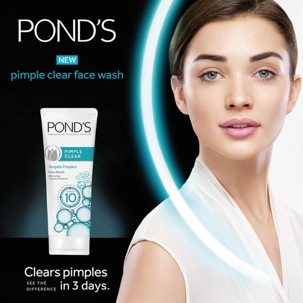 Ponds Face Wash Pimple Clear - Shajgoj
