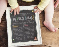 1st birthday editable chalkboard signs instant download files