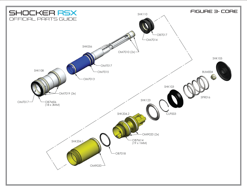 RSX – Parts by Diagram – Bolt System