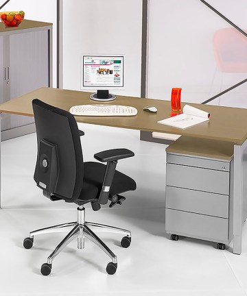 SIMAD 4P Bureau Frame Aluminium Blad Halifax