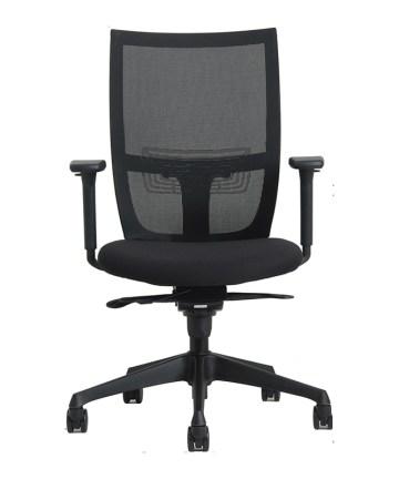 bureaustoelen EN-1335; Curve bureaustoel