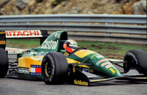 Image result for 1992 lotus 107