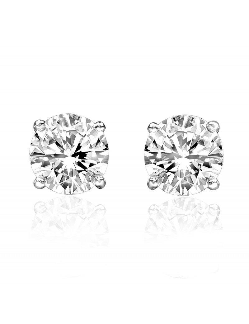 201b7014d Nice Rose G Carat Pear Stud Earring One Carat Diamond Pear Stud ...