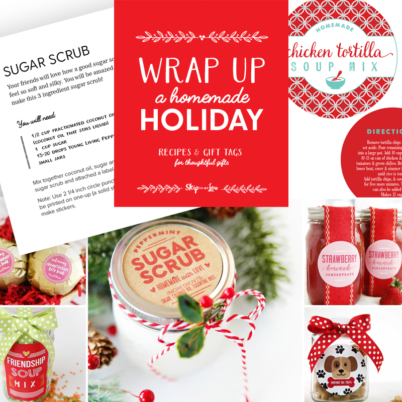 wrap up a homemade holiday