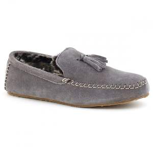 Men's Suede Clifford Moccasin Slippers