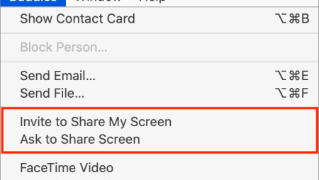 Use the Mac's Built-In Screen Sharing to Provide Remote Help
