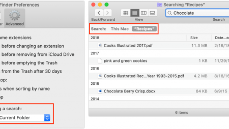 Find Files in the Finder Better by Specifying a Search Scope