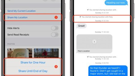 Reduce Arrival Time Anxiety by Sharing Your Location Temporarily