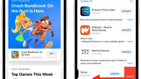 Work with iOS App Updates in Your Account in the App Store